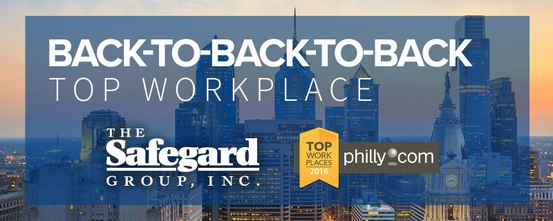 Third Consecutive Top Workplace in Philadelphia Award