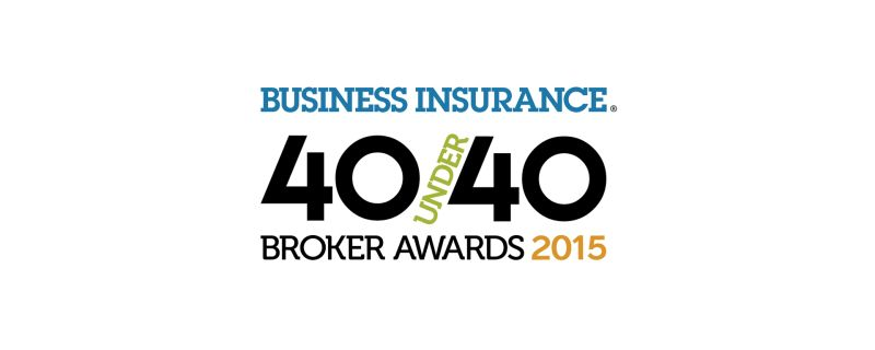 Brian Courtney 2015 40 Under 40 Broker Award