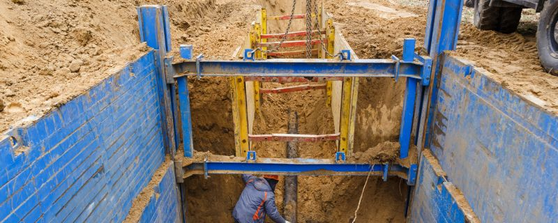 The 3 S's of Trenching Safely: Slope It, Shore It, Shield It!